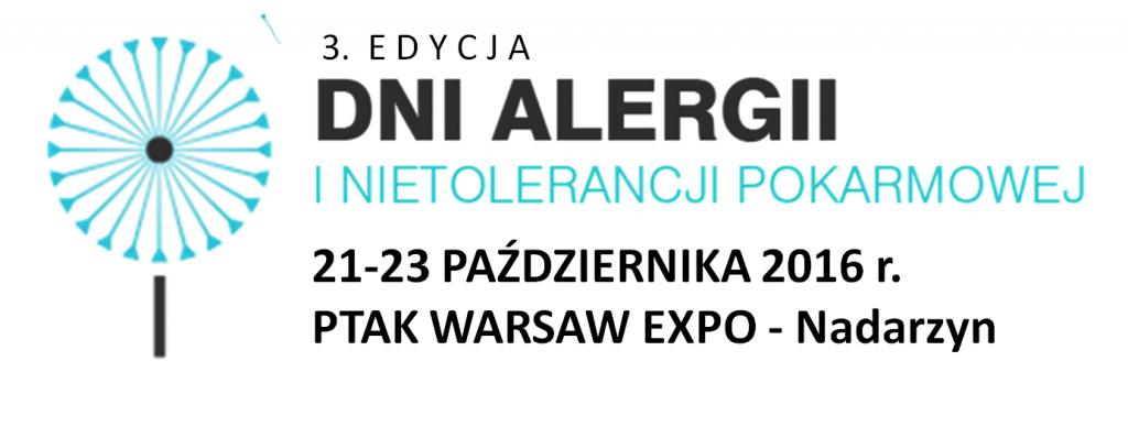 3 edycja dni alergii i nietolerancji pokarmowej Ptak Warsaw Expo Nadarzyn