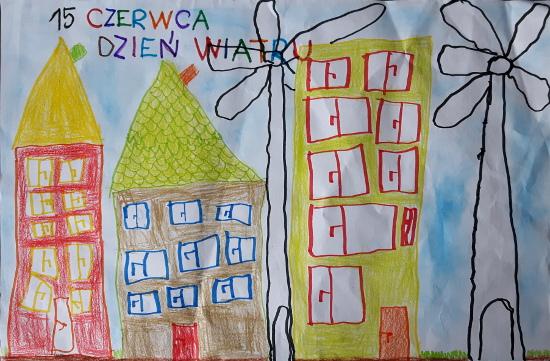 Kacper Halejak, lat 5, Dzień Wiatru