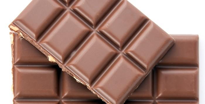 Tabliczka czekolady zrobiona z kakao