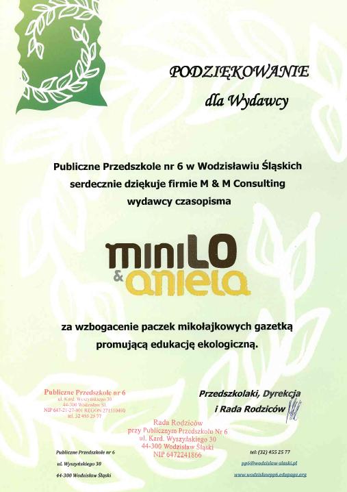 podziekowanie_minilo