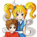 Bohaterowie Minilo i Aniela zatroskani o czyste powietrze